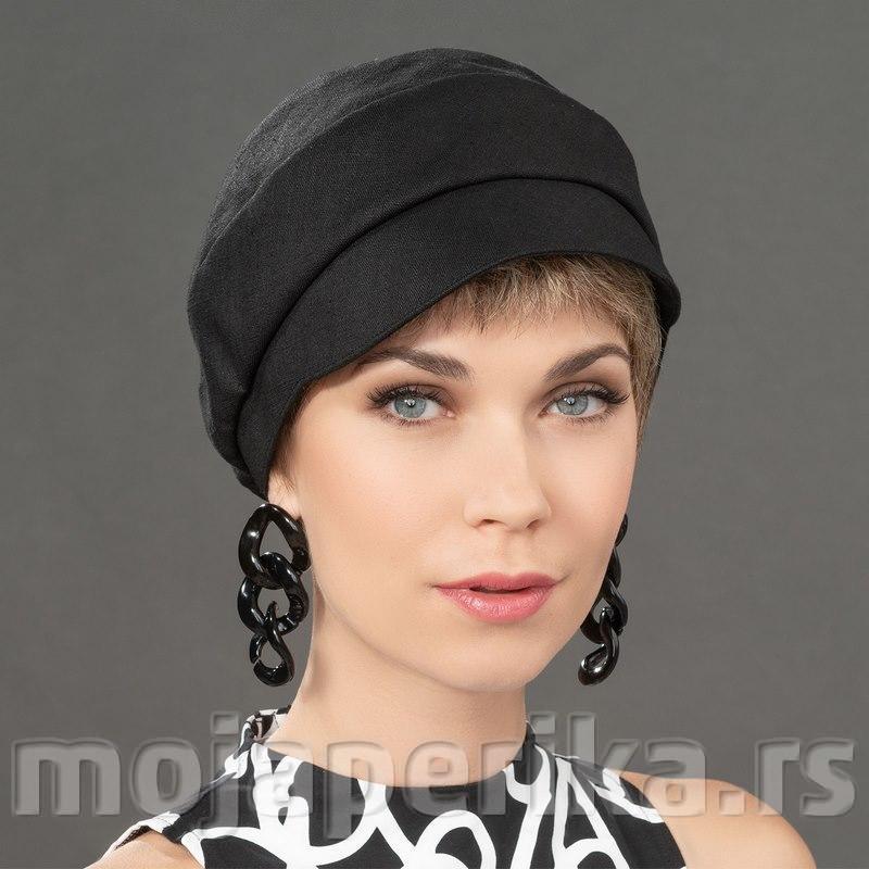 Crna kapa za osetljivo teme glave