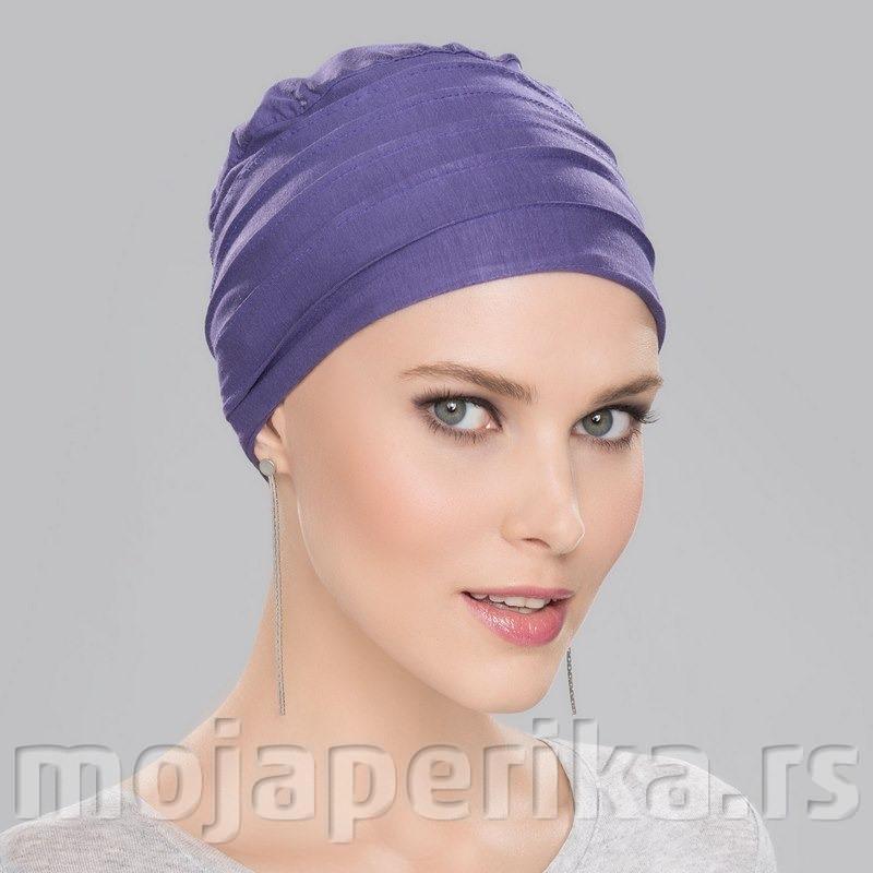Ljubičasti turban za kosu Anoki